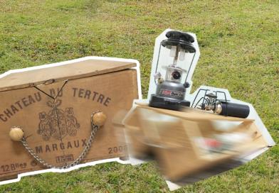DIY 無價,紅酒箱改造!戶外專用「變型整理箱」