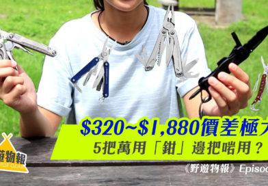 $320~$1,880價差極大!5把萬用「鉗」邊把啱用?